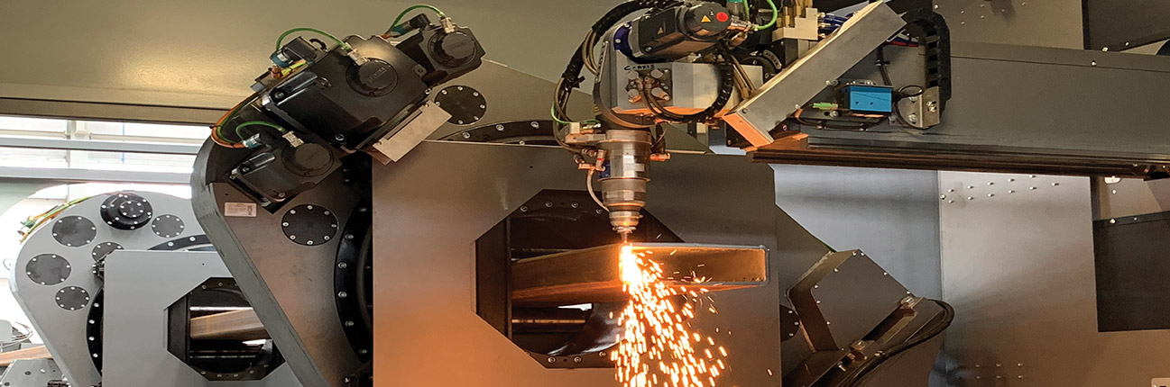 Laser processing cutting steel 2